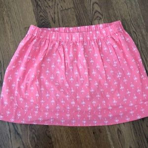 JCrew Coral Skirt size XL
